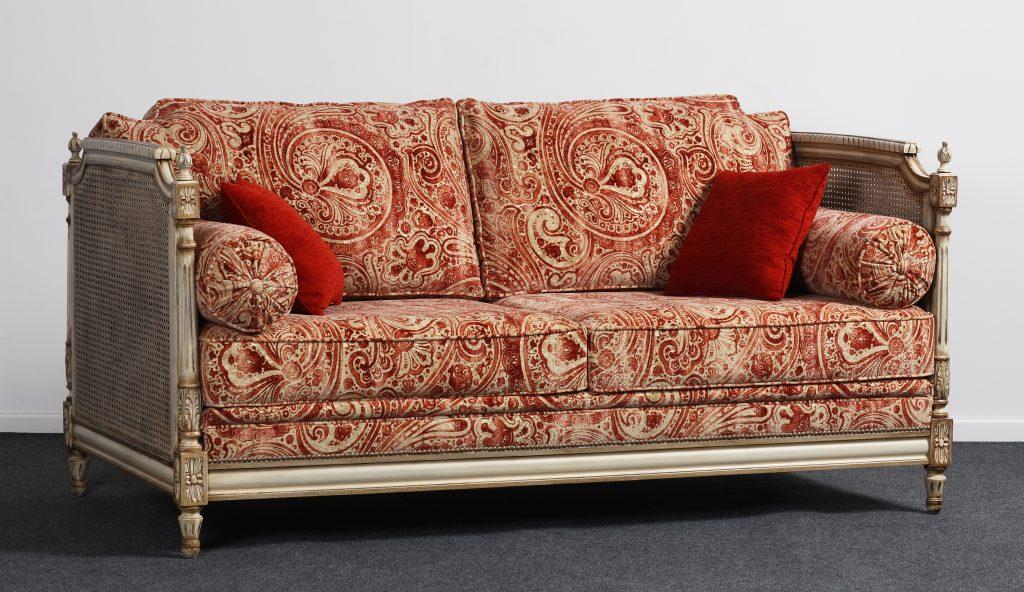 lit de repos cann style louis xvi balzarotti cr ateur de meubles et si ges. Black Bedroom Furniture Sets. Home Design Ideas