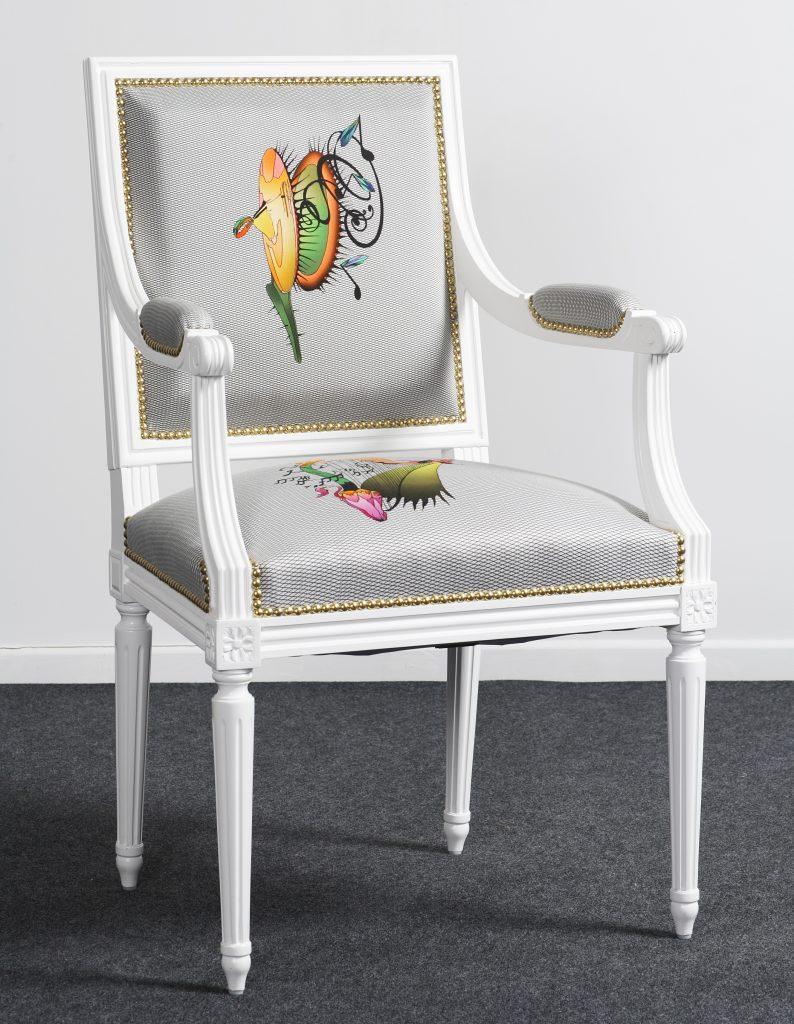 fauteuil jacob bout de table style louis xvi balzarotti cr ateur de meubles et si ges. Black Bedroom Furniture Sets. Home Design Ideas