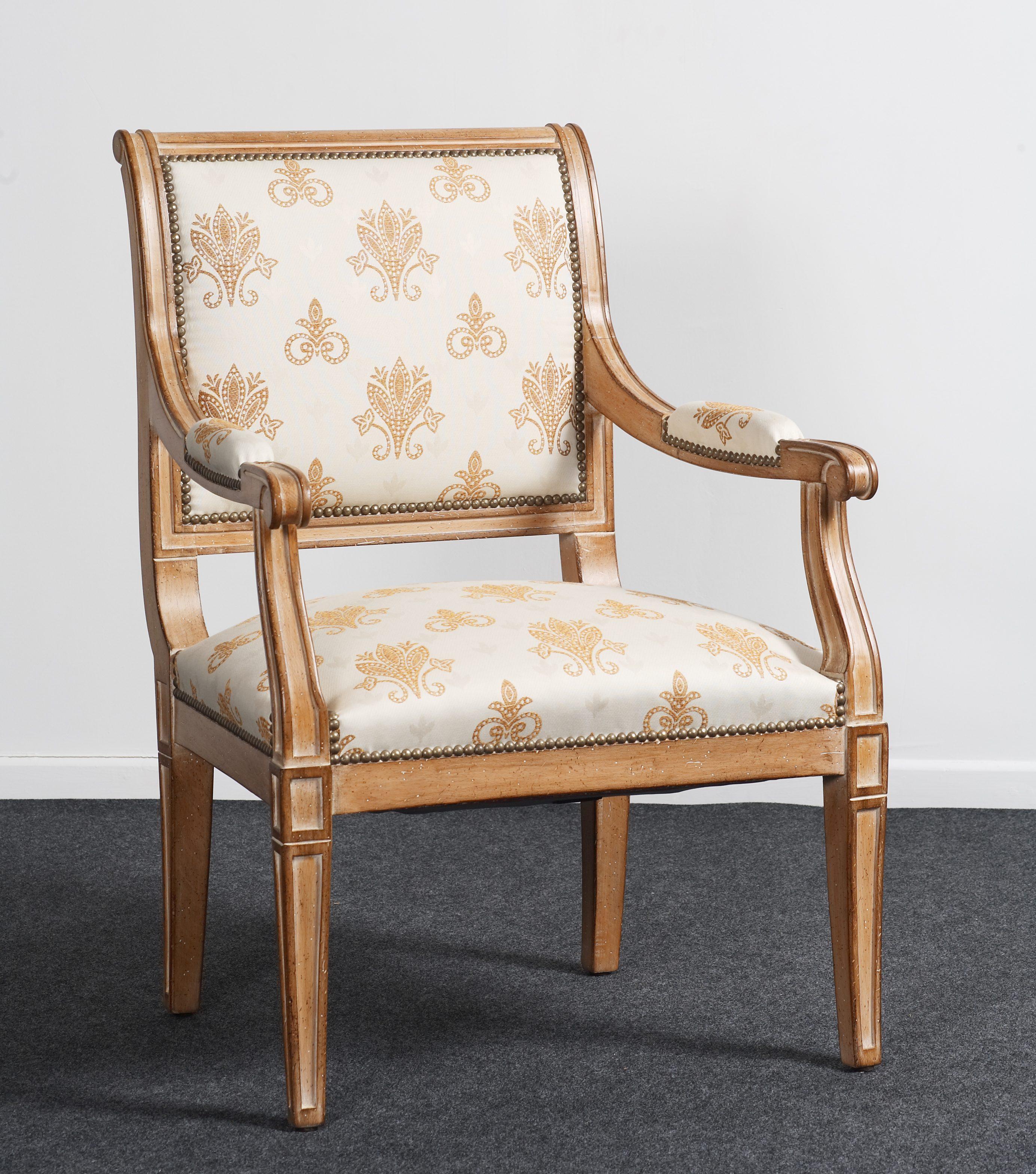 balzarotti cr ateur de meubles et si ges directoire style armchair. Black Bedroom Furniture Sets. Home Design Ideas