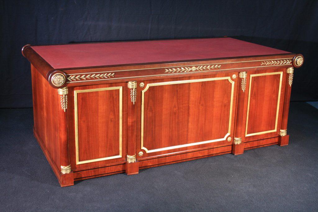 Bureau ministre style empire balzarotti créateur de meubles et