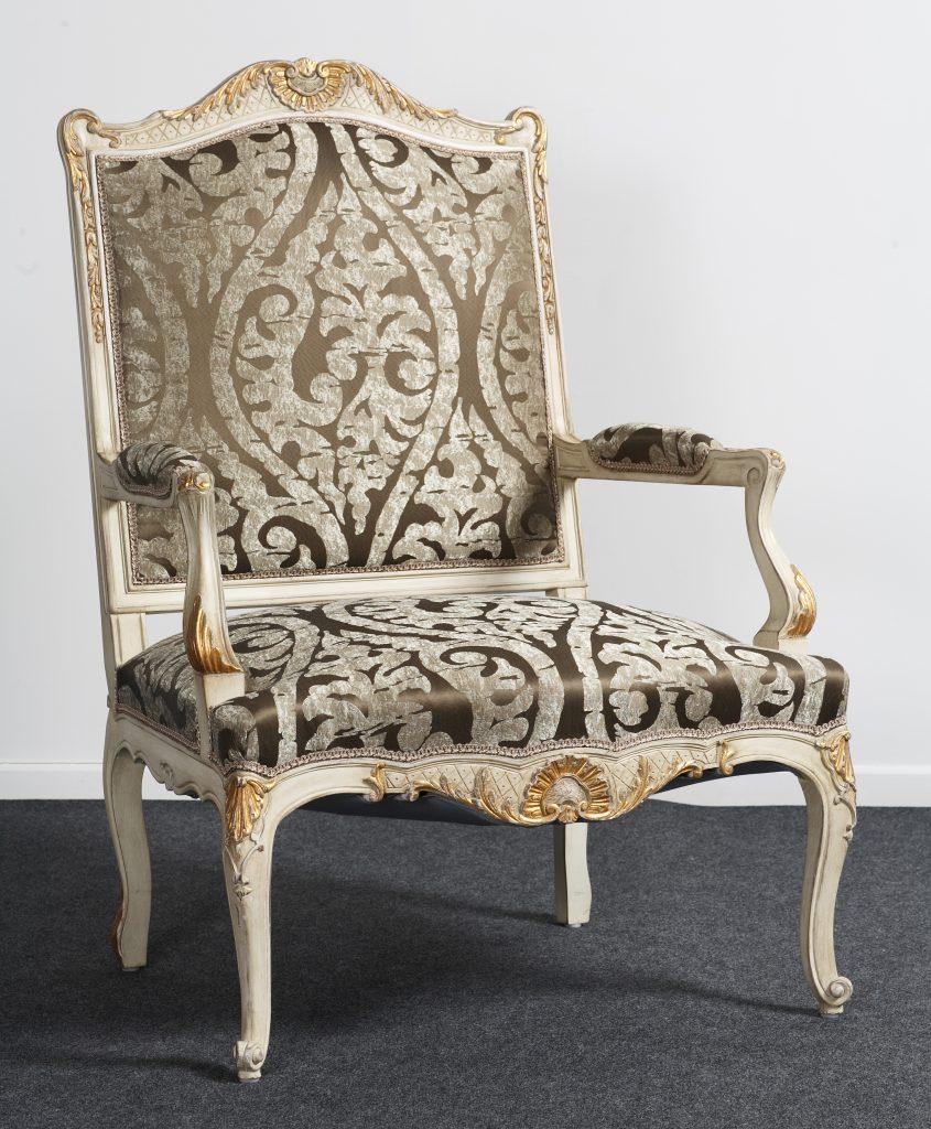 Fauteuil Createur fauteuil de salon, style louis xiv - balzarotti - créateur de